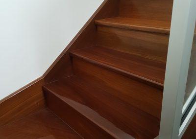 elegant timber stair polishing geelong
