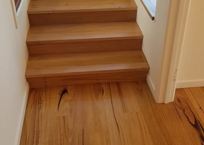 geelong timber stair polishing