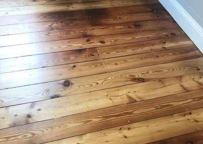 pine floor with Bona Silk Matt finish