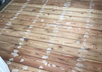 pine floor with Bona Silk Matt finish A