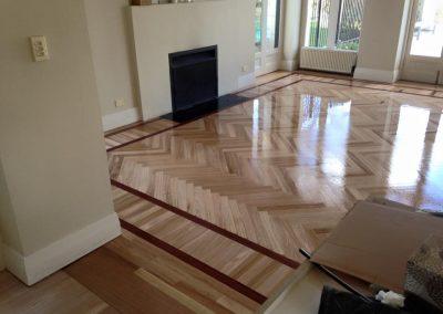 timber floor sanding and polishing